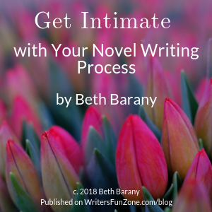 Get Intimate with Your Novel Writing Process by Beth Barany