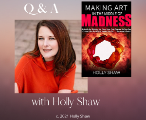 Q&A with Author and Performer, Holly Shaw