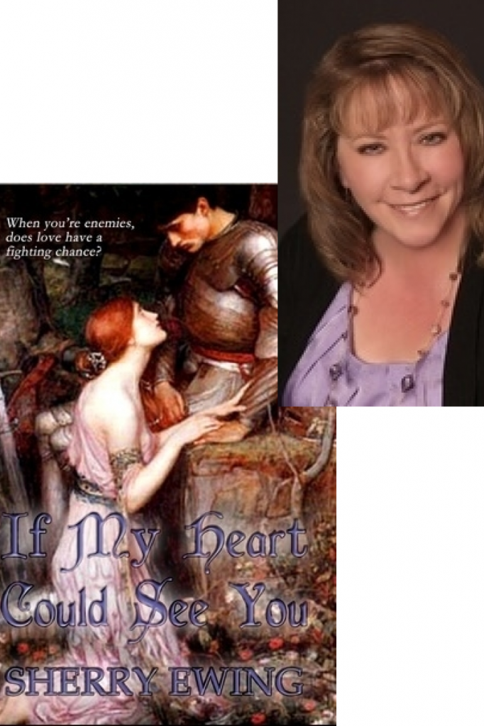 Sherry Ewing, author of IF MY HEART COULD SEE YOU