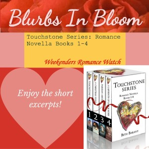 blurbs in bloom excerpts and mention blog spotlight