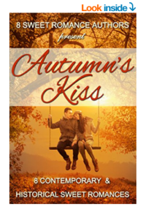 AUTUMN'S KISS anthology, 8 contemporary and historical sweet romances
