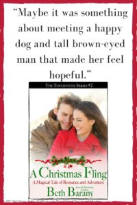 A Christmas Fling by Beth Barany (Touchstone #2)