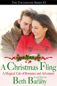 A Christmas Fling (A Christmas Elf Romance) a new story of romance and adventure by award-winning author, Beth Barany