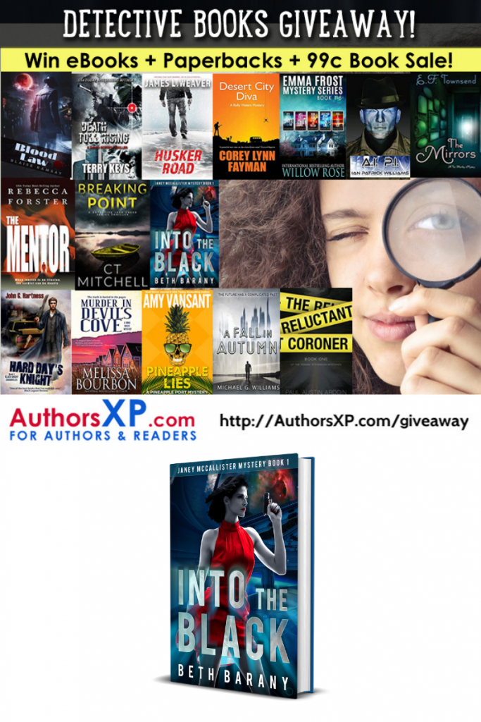 DETECTIVE BOOKS GIVEAWAY